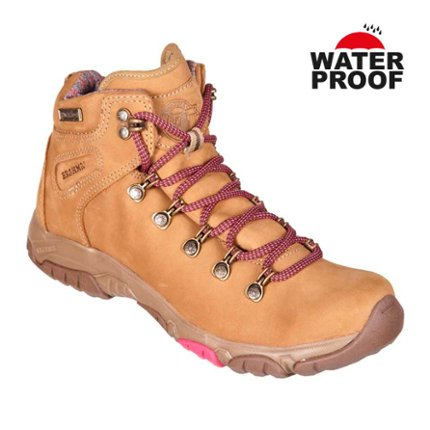 TG2660 Taupe - Waterproof Boots